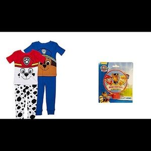 Paw Patrol Chase Marshall PJs + Nightlight 2T